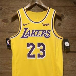 Lebron Nike Lakers Icon Edition Jersey.WISH Patch